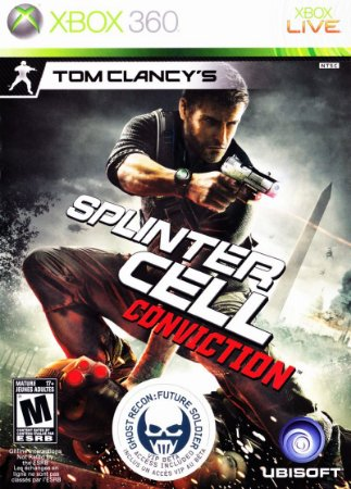 Usado Jogo Xbox 360 Tom Clancy's Splinter Cell Conviction - Ubisoft