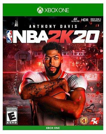 Jogo Xbox One NBA 2K20 - 2K