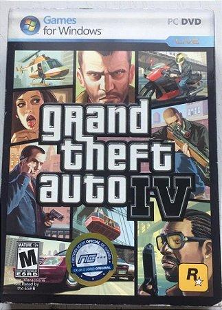 Usado Jogo PC Grand Theft Auto IV GTA 4 - Rockstar