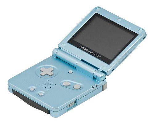 Usado Console Nintendo Game Boy Advance Azul Perola - Nintendo