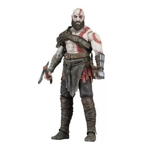 Usado Boneco Articulado Kratos