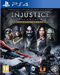 Usado Jogo PS4 Injustice: Gods Among Us - Ultimate Edition - Warner Bros Games