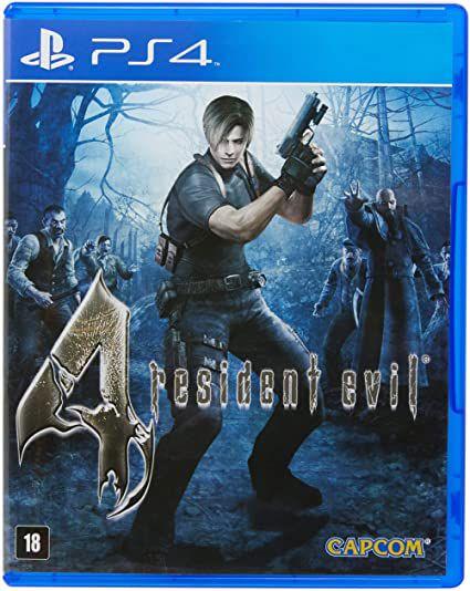Jogo PS4 Resident Evil 4 - Capcom