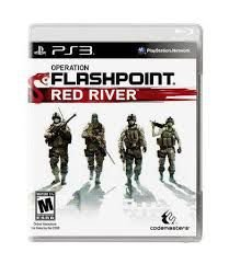 Usado Jogo PS3 Operation Flashpoint: Red River - Codemasters