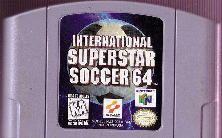Usado Jogo Nintendo 64 International Superstar Soccer 64 - Konami