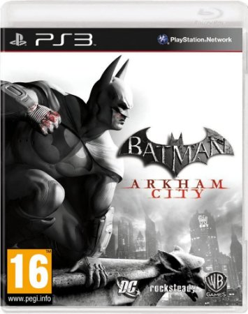 Usado Jogo PS3 Batman Arkham City- Warner Bros Games