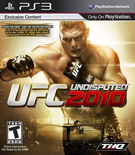 Jogo PS3 UFC Undisputed 2010 - THQ