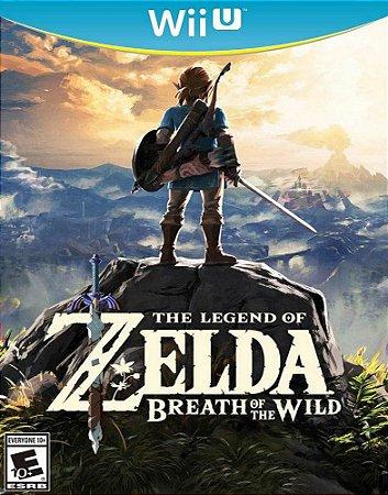 Jogo Nintendo Wii U The Legend of Zelda Breath of The Wild - Nintendo