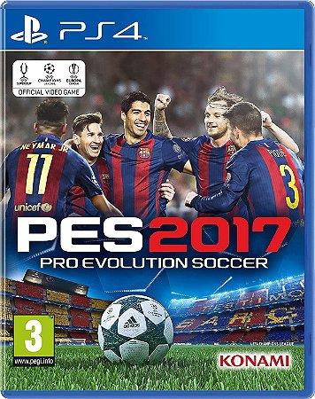 Usado Jogo PS4 PES 2017 Pro Evolution Soccer - Konami