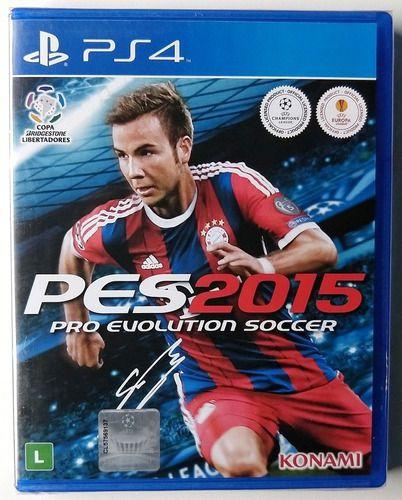 Usado Jogo PS4 PES 2015 Pro Evolution Soccer - Konami