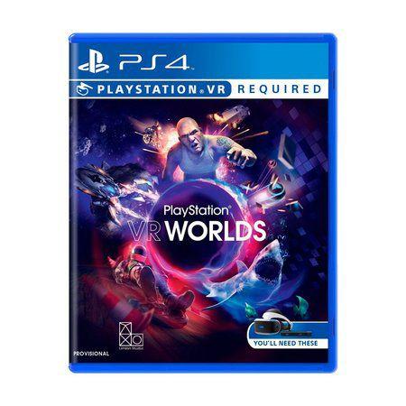 Jogo PS4 Playstation VR Worlds - Sony