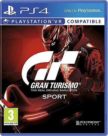 Usado Jogo PS4 Gran Turismo Sport Compatível com VR - Polyphony