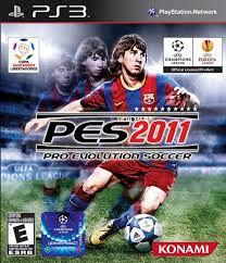 Usado Jogo PS3 Pro Evolution Soccer 2011 PES 2011 - Konami