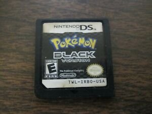 Usado Jogo Nintendo DS Pokemon Black Version s/ Caixa - Nintendo