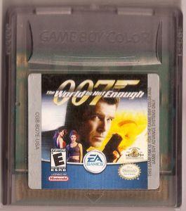 Usado Jogo Game Boy Color 007 The World is not Enough s/ Caixa