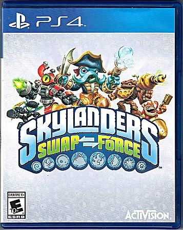 Usado Jogo PS4 Skylanders Swap Force- Pack com Portal e 3 Bonecos - Activision