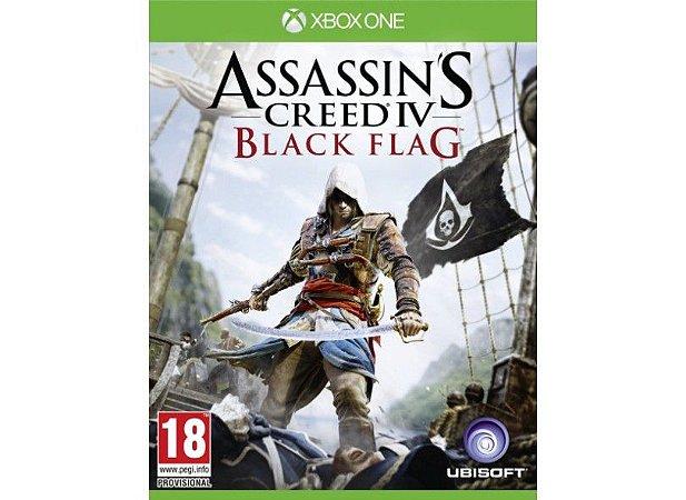 Usado Jogo Xbox One Assassins Creed 4 Black Flag - Ubisoft