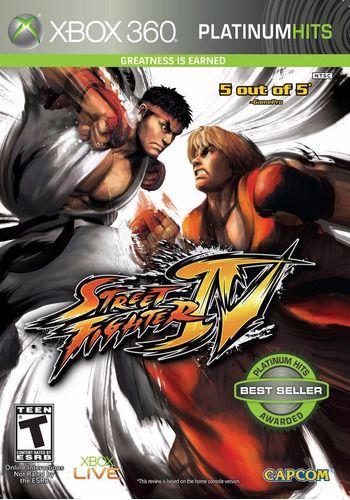 Usado Jogo Xbox 360 Street Fighter 4 - Capcom