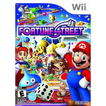 Jogo Wii Fortune Street - Nintendo