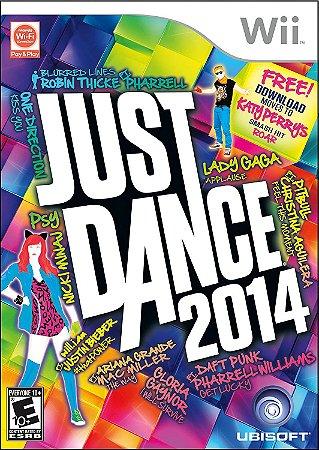 Jogo Nintendo Wii Just Dance 2014 - Ubisoft