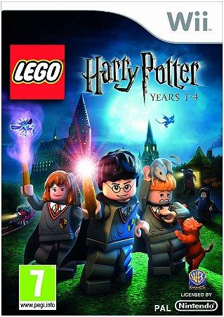 Usado Jogo Nintendo Wii LEGO Harry Potter Years 1-4 - WB Games