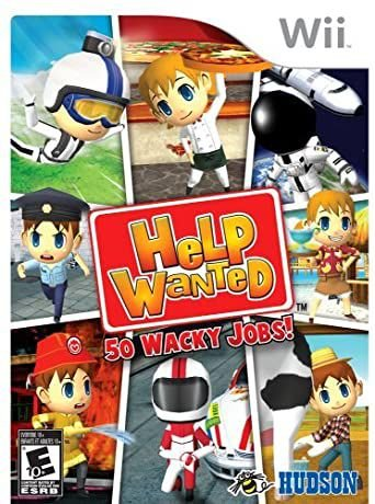 Usado Jogo Nintendo Wii Help Wanted 50 Wacky Jobs - Hudson