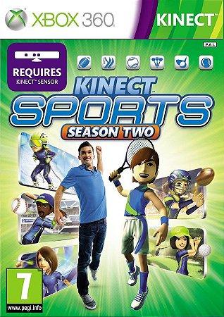 Usado Jogo Xbox 360 Kinect Sports Season 2 - Microsoft
