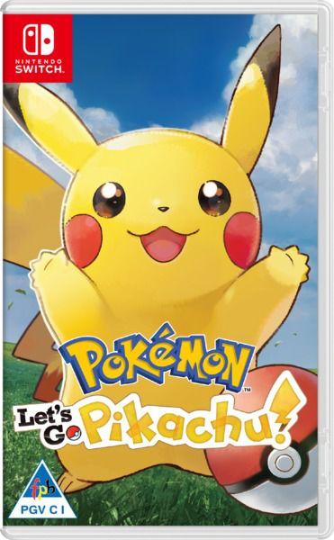 Usado Jogo Nintendo Switch Pokémon: Let's Go Pikachu! - Nintendo