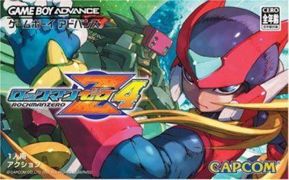 Usado Jogo Nintendo Game Boy Advance Rockman Zero 4 Japones ( Na Caixa) - Capcom