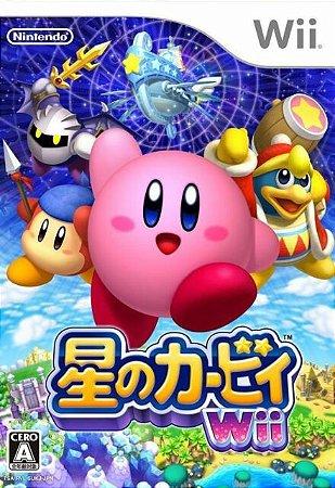 Usado Jogo Kirby Hoshi no Kirby Wii Japonês - Nintendo