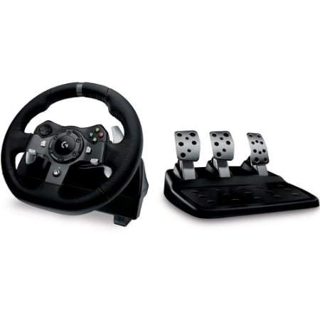 Volante Logitech G920 Driving Force para Xbox One e PC - Logitec