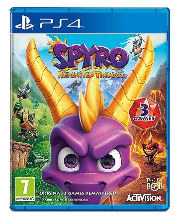 Usado Jogo PS4 Spyro Reignited Trilogy - Activision