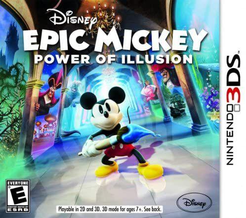 Usado Jogo Nintendo 3DS Epic Mickey Power of Illusion - Disney