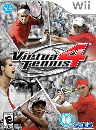 Usado Jogo Nintendo Wii Virtua Tennis 4 - Sega