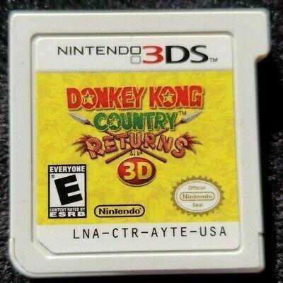 Usado Jogo Nintendo 3DS Donkey Kong Country Returns S/ Caixa - Nintendo