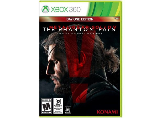 Jogo Xbox 360 Metal Gear Solid V: The Phantom Pain - Konami