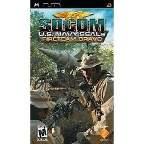 Jogo PSP Socom US Navy Seals Fireteam Bravo - Sony