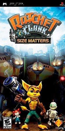 Jogo PSP Ratchet Clank Size Masters - Sony