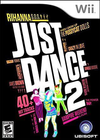 Jogo Nintendo Wii Just Dance 2 - Ubisoft