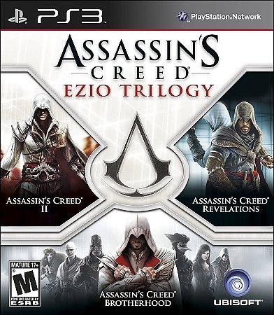 Usado Jogo PS3 Assassin's Creed Ezio Trilogy - Ubisoft