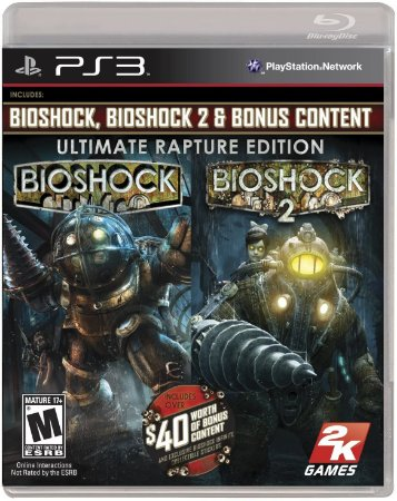 Usado Jogo PS3 Bioshock 1 + Bioshock 2 Ultimate Rapture Edition - 2K