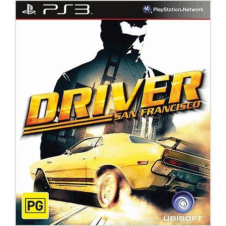 Jogo PS3 Driver San Francisco - Ubisoft