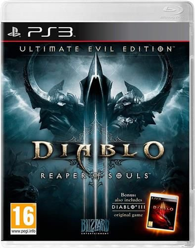 Usado Jogo PS3 Diablo 3 Reaper of Souls Ultimate Evil Edition - Blizzard