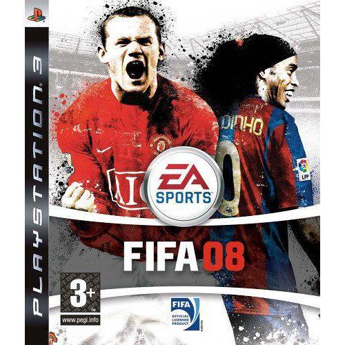 Jogo Ps3 Fifa Soccer 08 - EA