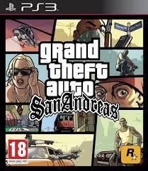 Jogo PS3 Grand Theft Auto GTA San Andreas - Rockstar