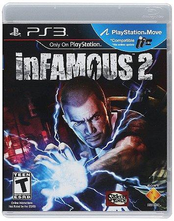 Usado Jogo PS3 inFamous 2 Embalagem OEM - Sony