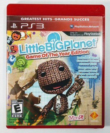 Jogo PS3 Little Big Planet - Game of The Year Edition - Sony