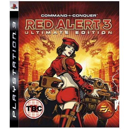 Jogo PS3 Command e Conquer Red Alert 3 Ultimate Edition - EA