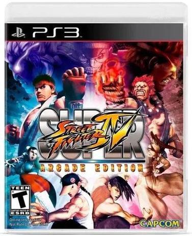 Jogo PS3 Super Street Fighter IV: Arcade Edition - Capcom