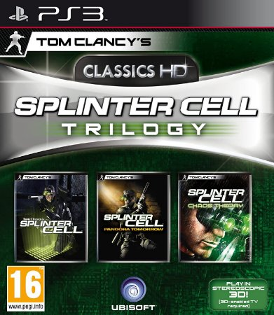 Usado Jogo PS3 Tom Clancy's Splinter Cell Trilogy - Ubisoft